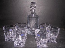 WHISKEY SET QUADRO 320ml. 7pcs.