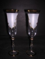 Flutes Angela 190 ml. White, 2 pcs.