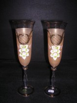Flutes Angela 190 ml. brown 2 pcs.