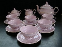 Tea Set Sonata 159 15d. pink.