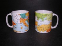 Big Map Mug 0.5l 2 pcs.