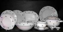 DINNER SET OFELIE 673V 25pcs.