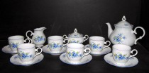 Tea set Ophelia forget-me-15pcs.