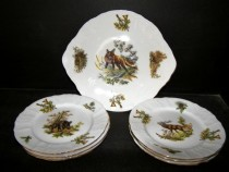 CAKE SET BERNADOTTE dekorate hunting