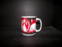 Big Red Cats Mug 0.5l