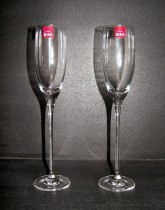 GLASS GOURMET FASCINATION 180ml. CHAMP. FLUTE 2pcs.
