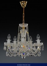Cut crystal chandelier Five arm  02001/57001/005 47*44