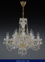 Cut Crystal Chandelier 6 +3 arm 02001/57001/6+3 60*62