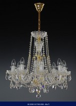 Cut crystal chandelier 8 arm 02001/57001/008 60*75