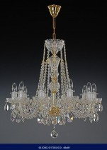 Cut crystal chandelier 10 arm 02001/57001/010 68*69