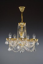 5 arm chandelier Enamel 02001/00111/005 47 * 44