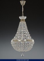 CHANDELIER BRILLIANT CRYSTAL SILVER COLOR 02001/10113/003 35*60