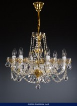 6 arm chandelier Enamel 02001/00011/006 59 * 49