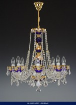 8 arm chandelier Enamel 02001/00211/008 60 * 62