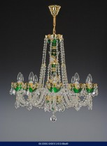 10 arm chandelier Enamel 02001/00311/010 68 * 69