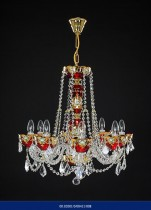 8 arm chandelier Enamel 02001/00411/008