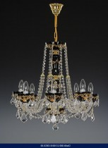 8 arm chandelier enamel 02001/00511/008 60 * 62