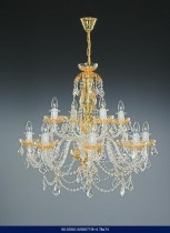 Color Crystal Chandelier 8 +4 arm 02001/00077/8 +4 78 * 74