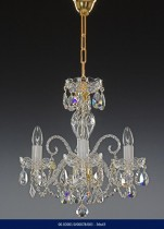 CHANDELIER three arm Crystal  02001/00078/003 36*43