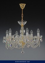 Six arm crystal chandelier 02001/00078/006 KT