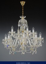 8 +4 Chandelier crystal arm   02001/00078/8+4 78*74