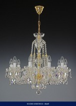10 arm crystal chandelier  02001/00078/010 68*69
