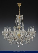 Crystal chandelier arm 10 +5    02001/00078/10+5 79*77