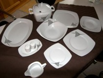 DINNER SET TETRA 023V  25pcs.