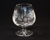 Crystal Brandy Glasses Pinwheel 10014/26008/750 0,75 l. 1pc.