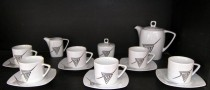Porcelain coffee set Tetra 023V 15pcs.