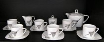 Porcelain tea set Tetra 023V 15pcs.