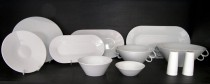 DINNING SET BOHEMIA WHITE 31pcs.