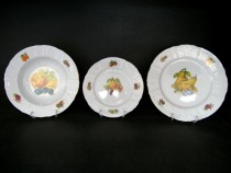 PLATE SET BERNADOTTE FRUITS 18pcs.