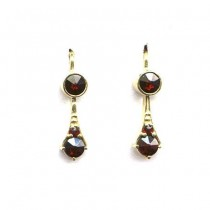 3960 garnet earrings