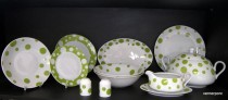 Porcelain tableware set 25 piece Viola ZK471