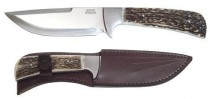 HUNTING KNIVE 398-NP-13B ANTLER