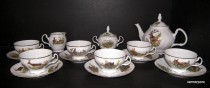 Tea set Bernadotte hunting 15pcs.