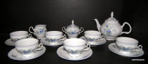 Tea set Bernadotte FLOWER 15pcs.