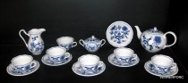 Onion pattern tea set 70507 15 pieces.