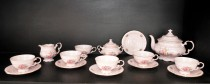 Tea Set Sonata 013 pink 15 pcs.