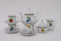 Tea service Mary Anne 80H, white.