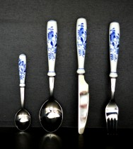 Blue Onion 4pcs cutlery. 6026