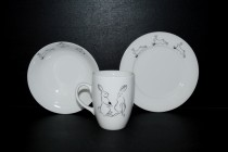 Baby set bunnies, 3 pieces at a bargain price!