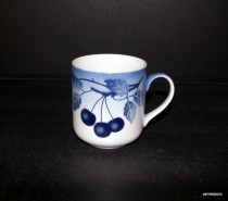 Blue Mug Cherry 0.33l 6pcs