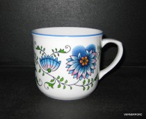 Mug 0.65 l cooker Blue Onion nature.