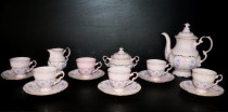 Coffee Set Sonata 009 pink 15 pcs.
