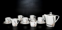 Coffee set Tetra 049V 15 piece.