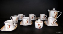 Porcelain coffee set Tetra 085V 15pcs.