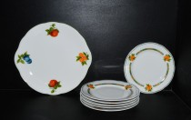 Mary Anne 80H cake set 7 pieces, white.