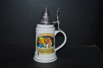 Beer tankard with a lid Our Father I. 0.5 liters ..